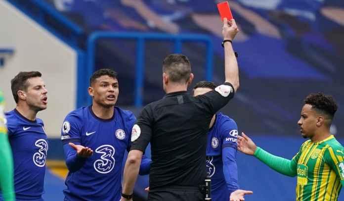 Thiago Silva Akhirnya Angkat Bicara Usai Diganjar Kartu Merah, Bikin Chelsea Kalah