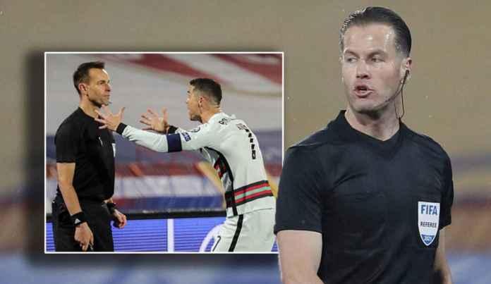 Asisten Wasit Penolak Gol Sah Ronaldo vs Serbia Dicoret dari Tim Wasit di Euro 2020