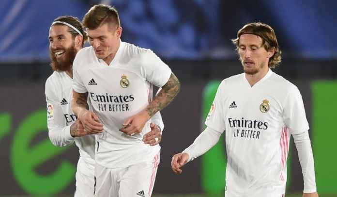 Daftar Skuat Real Madrid vs Cadiz : Tujuh Pemain Absen Termasuk Modric & Kroos