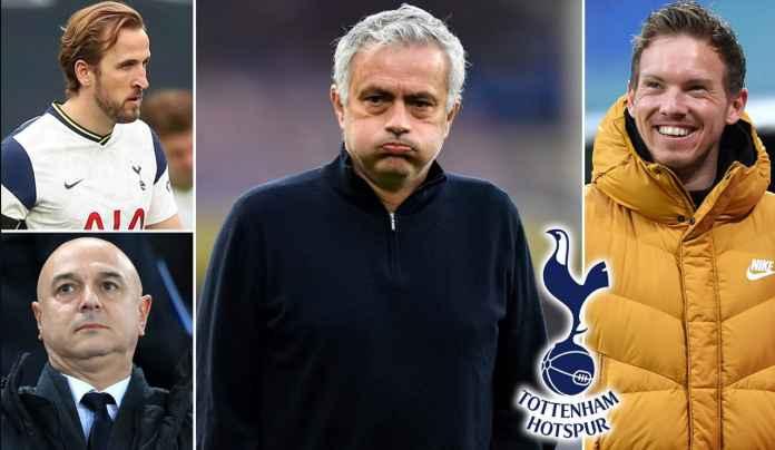 Nagelsmann Favorit Gantikan Mourinho, Gerrard & Allegri Juga Jadi Kandidat Kuat