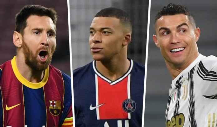 Kylian Mbappe : Saya Lebih Baik Ketimbang Lionel Messi & Cristiano Ronaldo!