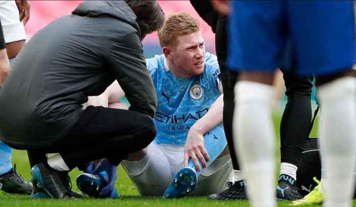 Pep Guardiola Khawatirkan Cedera Kevin de Bruyne Usai Kekalahan Manchester City
