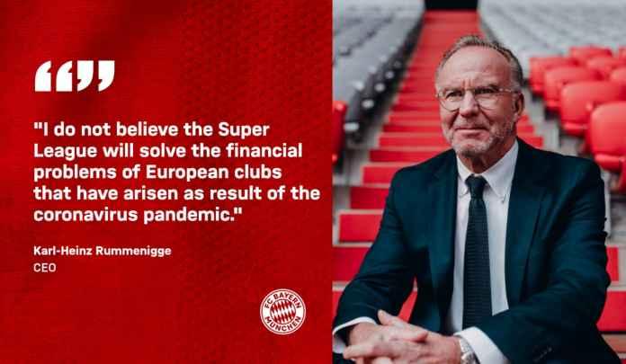 Bayern, Dortmund & Leipzig Kompak Resmi Umumkan Penolakan Liga Super Eropa