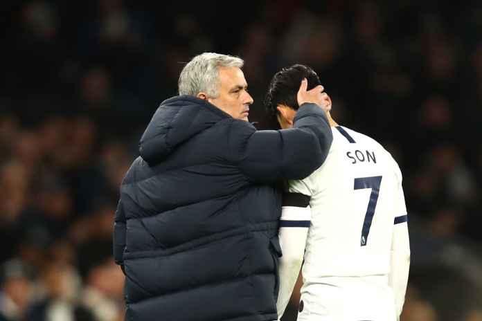 Son Heung-min Kirim Pesan ke Mourinho