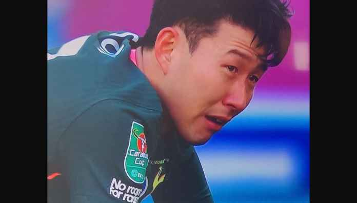 Son Heung-min Menangis Tersedu-sedu Kalah Final EFL Cup, Usia Keemasan Hampir Usai, Masih Nihil Trofi Klub