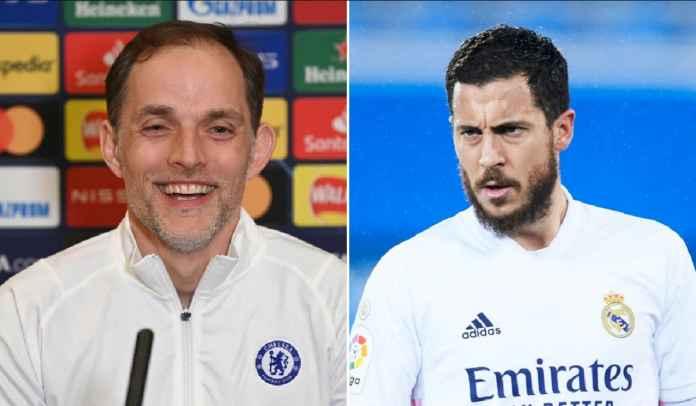 Thomas Tuchel Minta Pemain Chelsea Waspadai Pembuktian Diri Eden Hazard