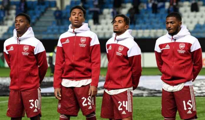 Arsenal Pasang Bandrol Tinggi Bagi Ainsley Maitland-Niles & Eddie Nketiah