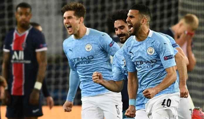 Dua Rekor Hebat Manchester City Usai Bungkam Paris Saint-Germain Tadi Malam