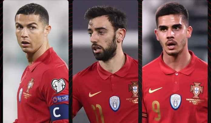Ronaldo + Bruno + Silva = 84 Gol, Bayangkan Betapa Ngeri Portugal di Euro 2020