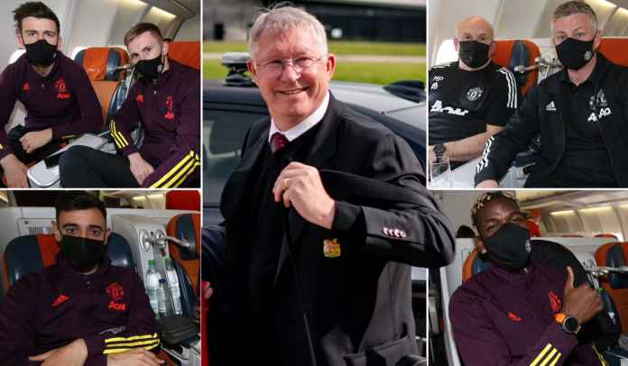Alex Ferguson Temani Rombongan Skuad Man Utd Terbang Menuju Final Liga Europa