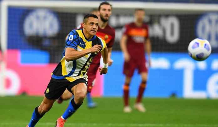 Alexis Sanchez Tumbal Kemenangan Inter Milan Atas Roma, Cedera Pergelangan Kaki