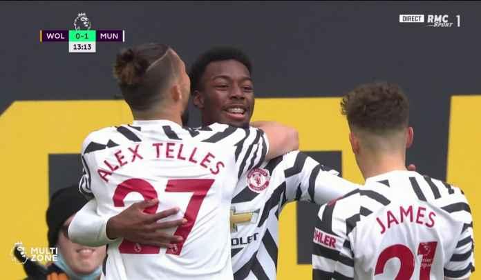 Gol Anthony Elanga Bikin Man Utd Kini Tinggal Satu Gol Lagi Samai Rekor Arsenal