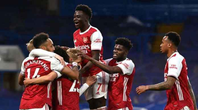 Hasil Liga Inggris: Arsenal Lanjutkan Tradisi Kalahkan Chelsea, Tiga Pertemuan Terkini Tiga Kemenangan