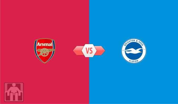 Prediksi Liga Inggris Arsenal vs Brighton, Ada Harapan Salip Spurs di Klasemen