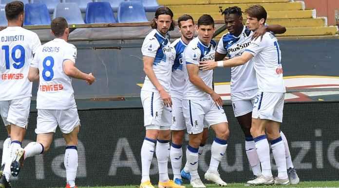 Hasil Liga Italia: Atalanta Menang, Bikin Milan Napoli Juventus Rebutan 2 Tiket Liga Champions Tersisa