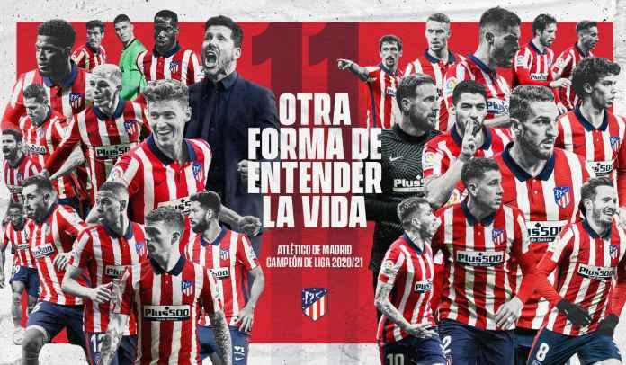 Atletico Madrid 11 Trofi, Berikut Daftar Kolektor Gelar Liga Spanyol Sepanjang Masa
