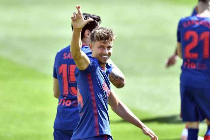 Atletico Madrid Bekuk Elche, Pencetak Gol Beri Respons