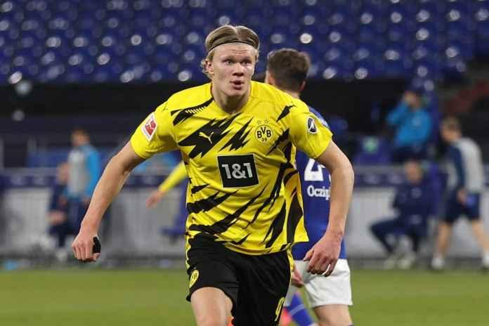 Borussia Dortmund Serius Pagari Erling Haaland