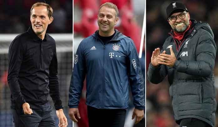 Klopp, Flick, Tuchel, Tiga Manajer Jerman Dominasi Liga Champions Tiga Musim Beruntun
