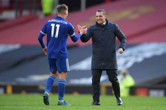 Brendan Rodgers Optimis Leicester Finis Empat Besar