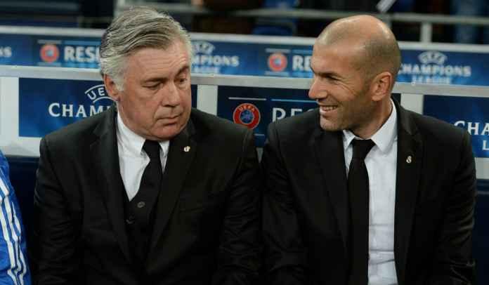 Zinedine Zidane Mundur Akhir Musim, Real Madrid Ingin Pulangkan Carlo Ancelotti