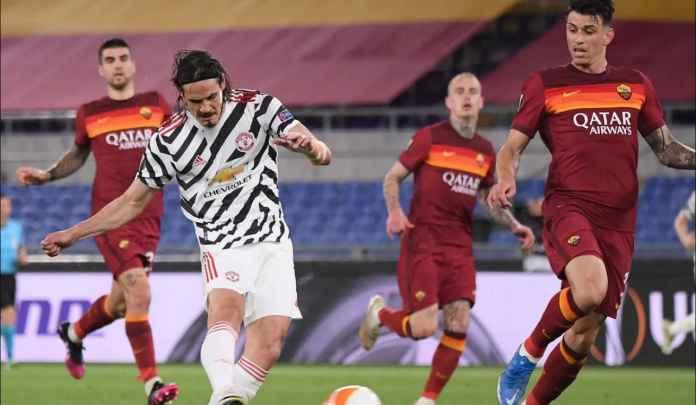 Jebol Gawang Roma, Cavani Sekarang Satu Gol Setiap Satu Penampilan di Liga Europa