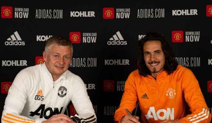 Resmi Perpanjang Kontrak di Manchester United, Edinson Cavani Ungkap Alasannya