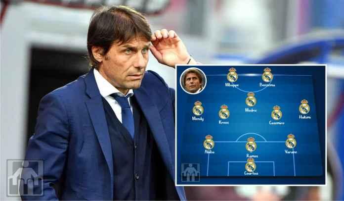 Perkiraan Formasi Real Madrid Musim Depan Jika Dilatih Tangan Dingin Antonio Conte