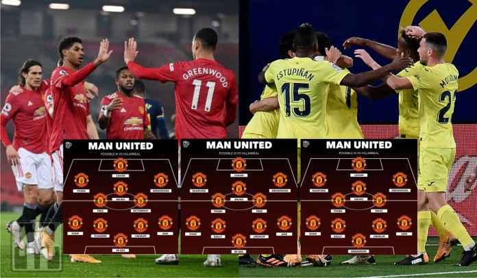 Tiga Perkiraan Formasi Man Utd vs Villarreal di Final Liga Europa Nanti Malam