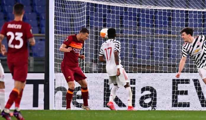 Sah! Man Utd Jadi Lawan Terfavorit Edin Dzeko, Sudah 9 Gol ke Gawang Setan Merah