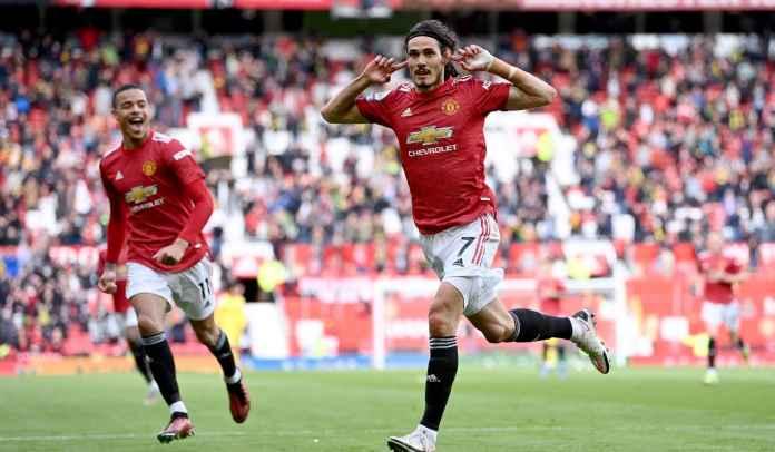 Edinson Cavani Bukukan Rekor Bagus, Tapi Man Utd Malu-Maluin di Old Trafford