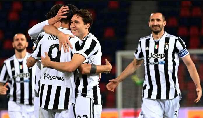 Giorgio Chiellini Senang Andrea Pirlo Berhasil Loloskan Juventus ke Liga Champions