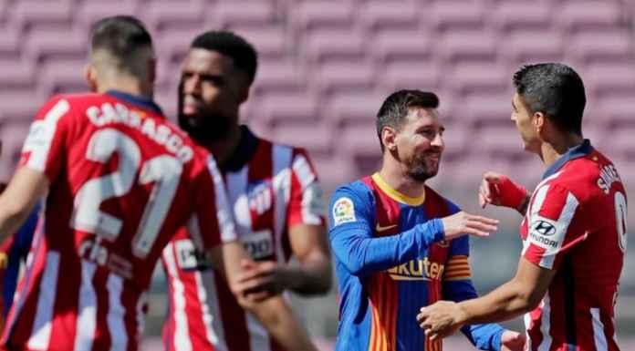 Hasil Barcelona vs Atletico Madrid di Liga Spanyol Skor Akhir 0-0