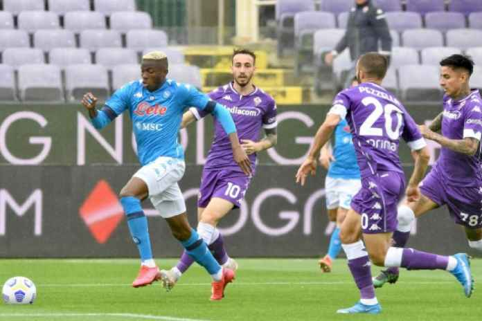 Hasil Fiorentina vs Napoli, Partenopei Kalahkan La Viola dan Tembus Tiga Besar Serie A