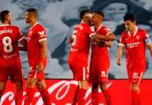 Hasil Real Madrid vs Sevilla di Liga Spanyol - Fernando cetak gol kemenangan