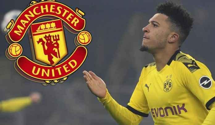 Jika Edinson Cavani Bertahan, Man Utd Makin Berpeluang Dapatkan Jadon Sancho