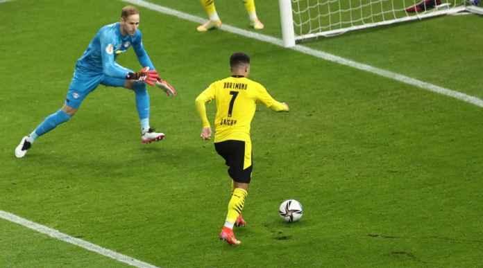 2 Gol Sancho dan Haaland Tadi Malam Beri Dortmund Trofi Satu-satunya Musim 2020/21