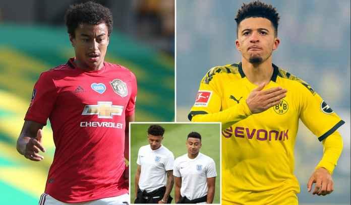 Man Utd Tawarkan Jesse Lingard ke Borussia Dortmund Demi Dapatkan Jadon Sancho