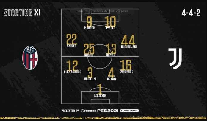 Juventus Tanpa Ronaldo di Starting XI vs Bologna, Kode Kepergian CR7 Musim Depan?