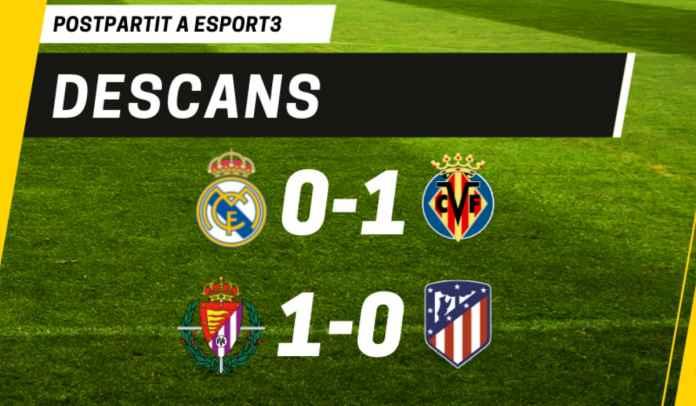 Lihat Cuplikan Gol yang Bikin Atletico & Real Sama-Sama Tertinggal di Babak Pertama