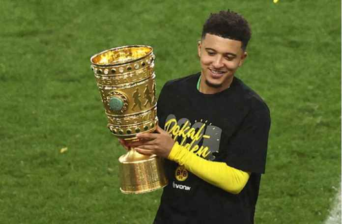 Manchester United Lega, Dortmund Dapatkan Pengganti Jadon Sancho
