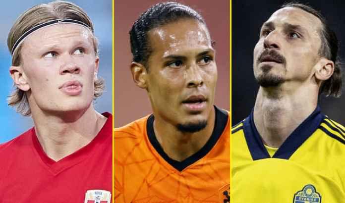 Mulai dari Ibrahimovic Hingga Erling Haaland, Ini Daftar Pemain Papan Atas yang Absen di Euro 2020