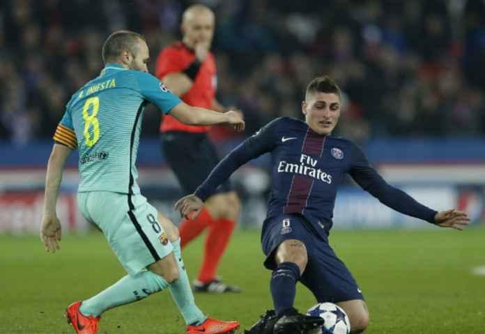 PSG Kehilangan Marco Verratti Enam Pekan, Absen di Euro 2020