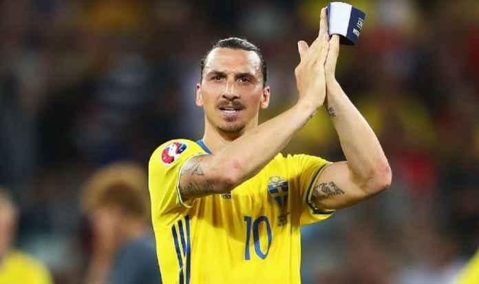 Zlatan Ibrahimovic Absen Bela Timnas Swedia di Euro 2020