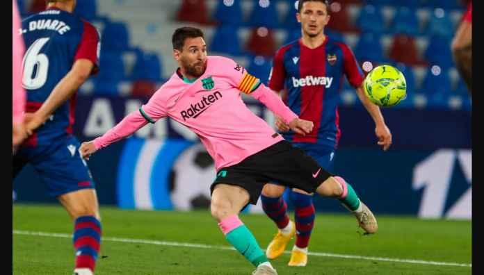 Peluang Juara Barcelona di Liga Spanyol Nyaris Habis, Dua kali Unggul Dua Kali Pula Disamakan Levante
