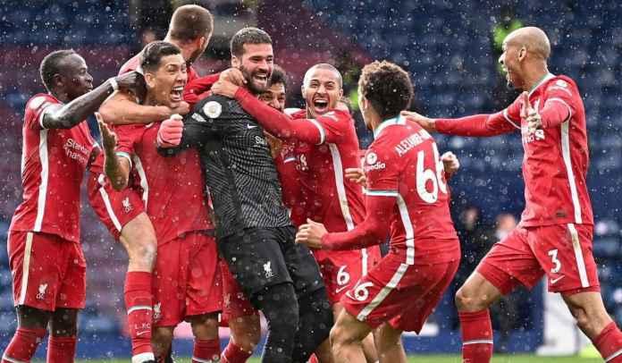 Alisson & Sejumlah Rekor Liverpool Usai Kemenangan Dramatis Atas West Brom