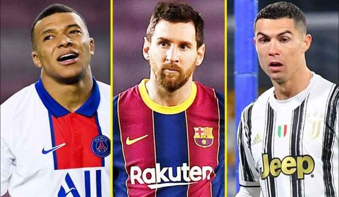 Paris Saint-Germain Prioritaskan Kontrak Baru Mbappe Ketimbang Kejar Messi & Ronaldo