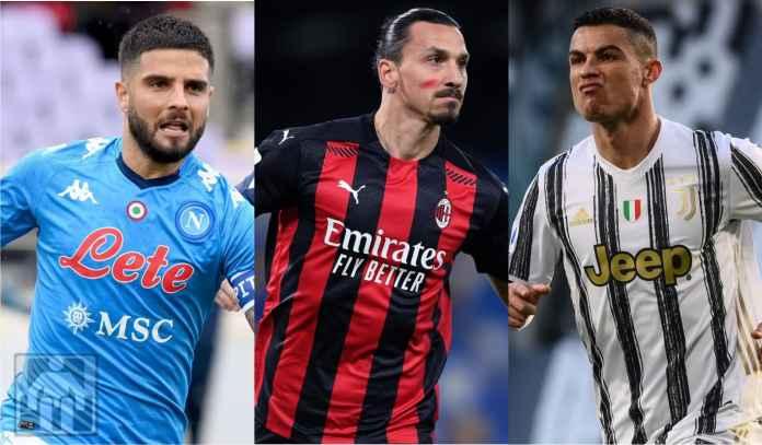 Skenario Lolos Liga Champions Napoli, AC Milan & Juventus di Laga Pamungkas Serie A