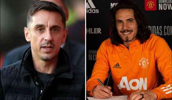 Antusias Kontrak Baru Edinson Cavani di Man Utd, Gary Neville : Ini Berita Besar
