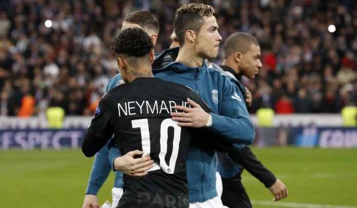 Neymar Akui Ingin Bermain Bareng Ronaldo, Kode CR7 Gabung Paris Saint-Germain?